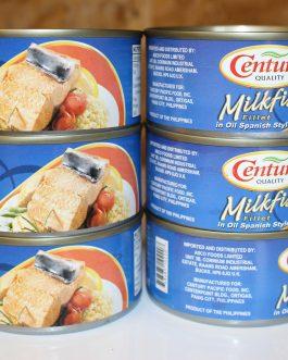 Century Milkfish (Bangus) Spanish Style 184g
