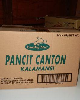Lucky Me Pancit Canton Kalamansi 60 g x 24 pcs