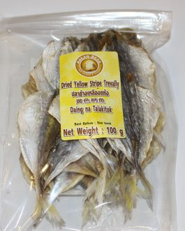 Dried Yellow Stripe Trevally 100g – daing na talakitok