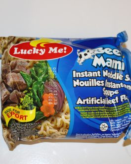 Lucky Me Instant Noodles Beef Flavour