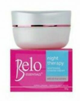 Belo Essentials Night Therapy Whitening Cream 50gs