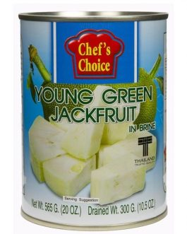 Chef's Choice Young green jackfruit 565 g