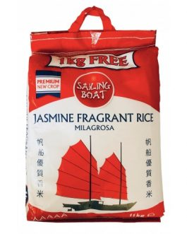 5A's Jasmine Fragrant Rice New Crop 10 kg + 1 kg Free