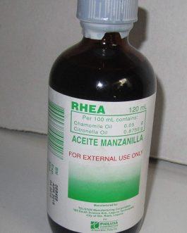 Aceite de Manzanilla