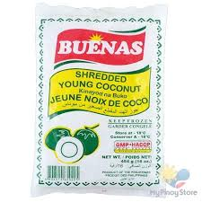 Buenas Shredded Young Coconut 454g
