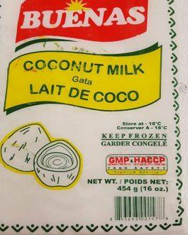 Buenas Frozen Coconut Milk 454g