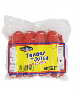 Tender & Juicy Beef Hotdogs
