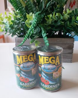 Mega Sardines in Tomato Sauce (Twin Pack)