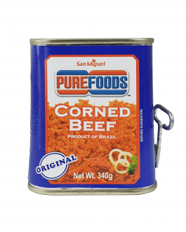 Pure Foods Corned Beef 340g