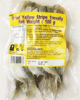 Dried Yellow Stripe Trevally 100 g