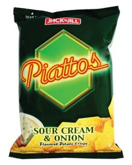 Piatos Sour Cream & Onions