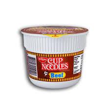 Nissin Cup Noodles Beef Mini