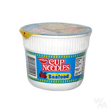 Nissin Cup Noodles Seafoods Mini