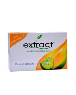 Extract Papaya Calamansi Whitening Herbal Soap