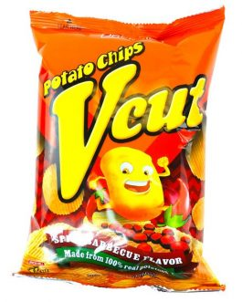 V-Cut Potato Chips – Spicy BBQ