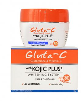 Gluta C with Kojic plus Face & Neck Cream