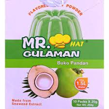 Mr Gulaman Buko Pandan 10Pkts