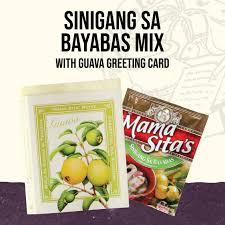 Mama Sita Sinigang sa Bayabas Mix