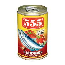555 Sardines in Chilli and Tomato Sauce