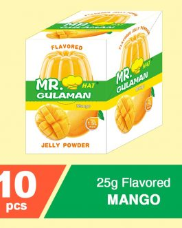Mr. Gulaman Mango Flavour 10x30g