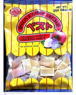 Besuto Prawn Crackers Onion & Garlic