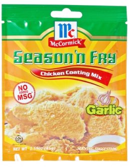 McCormick Season 'N Fry Garlic