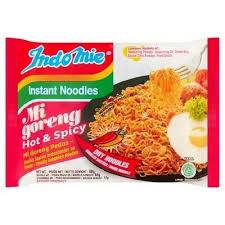 Indomie Instant Noodles Mi Goreng Hot & Spicy Pedas
