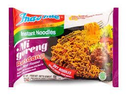 Indomie Instant Noodles Mi Goreng Rendang Spicy Beef