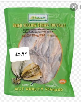 Dried Yellow Stripe Trevally Sweet