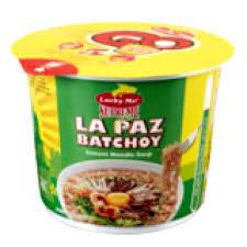 Lucky Me Supreme Mini Cup Noodles La Paz Batchoy