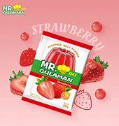 Mr Gulaman Strawberry Flavour 10x24g