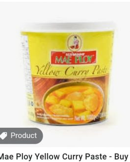 Mae Ploy Yellow Curry Paste 400 ml