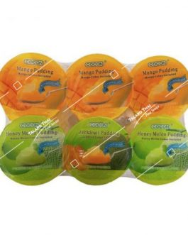 Cocon Nata & Fruit Dice Pudding Assorted 6x118g